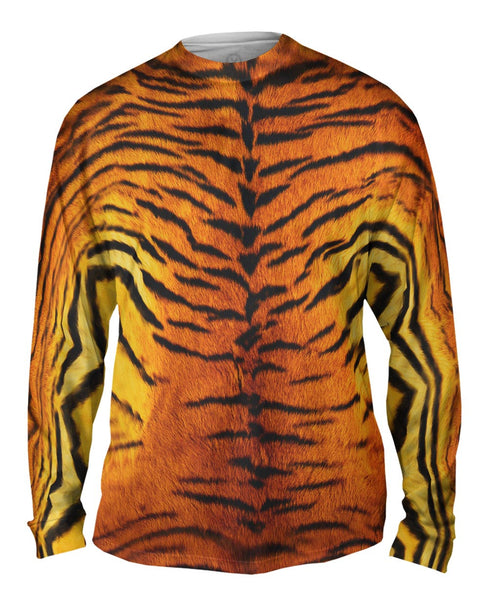 Tiger Skin Mens Long Sleeve