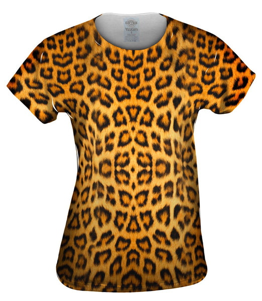 Leopard Skin Womens Top