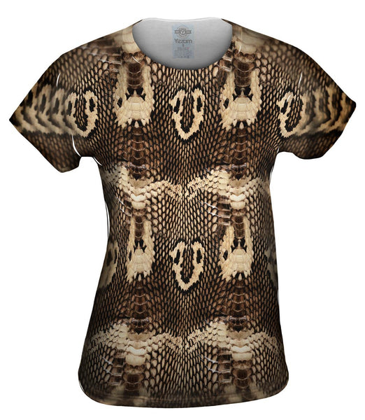 Cobra Snake Skin Womens Top
