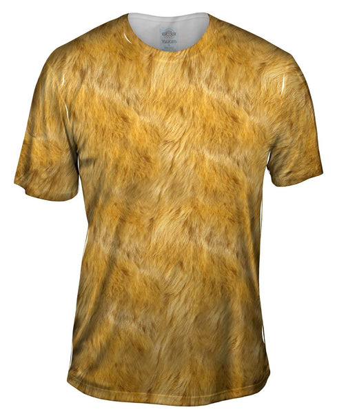 Lion Skin Mens T-Shirt
