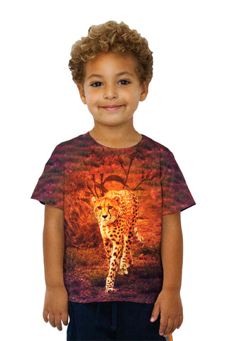 Kids Flower Cheetah