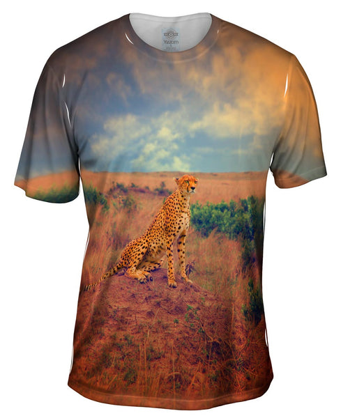 Cheetah Princess Mens T-Shirt