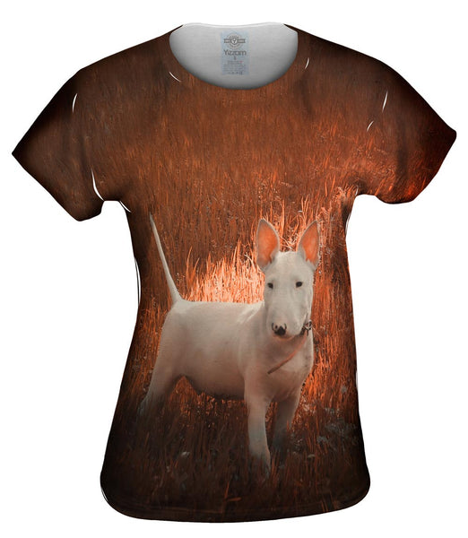 Bull Grass Puppy Womens Top