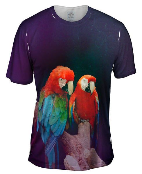 Pair of Macaws Mens T-Shirt