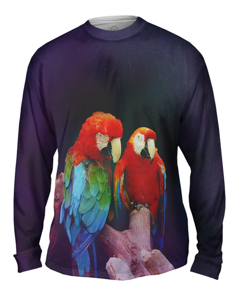 Pair of Macaws Mens Long Sleeve