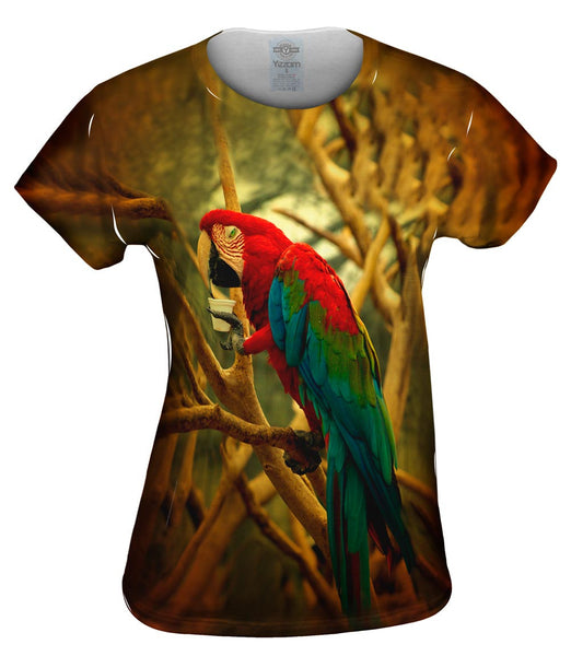 Cafe Macaw Womens Top