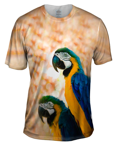 Duo Macaw Mens T-Shirt
