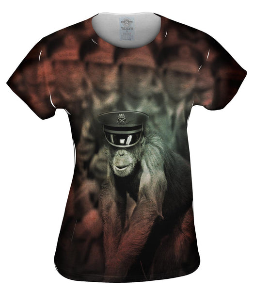 Army Chimp Womens Top