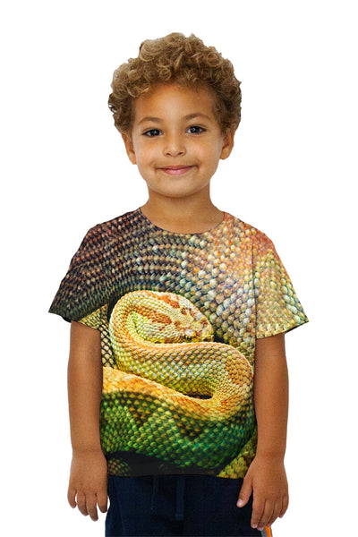 Kids Watchful Rattle Snake Kids T-Shirt