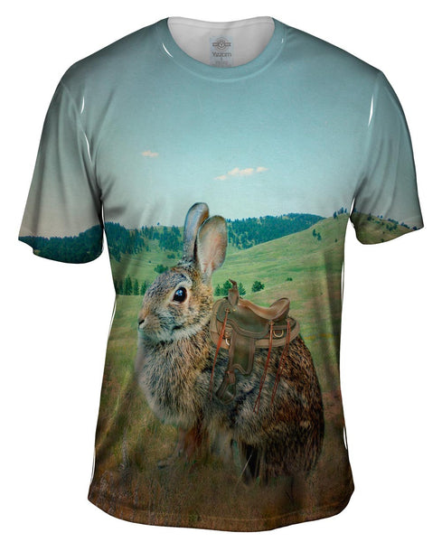 Ranch Bunny Mens T-Shirt