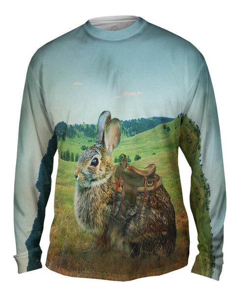 Ranch Bunny Mens Long Sleeve