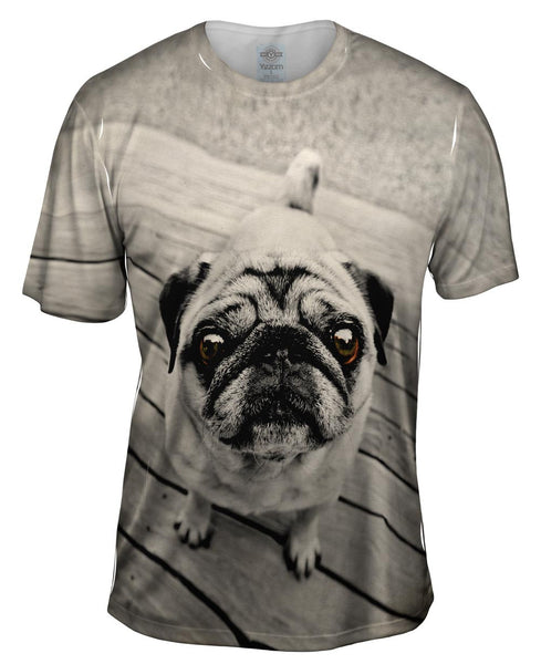 Deck Pug Mens T-Shirt
