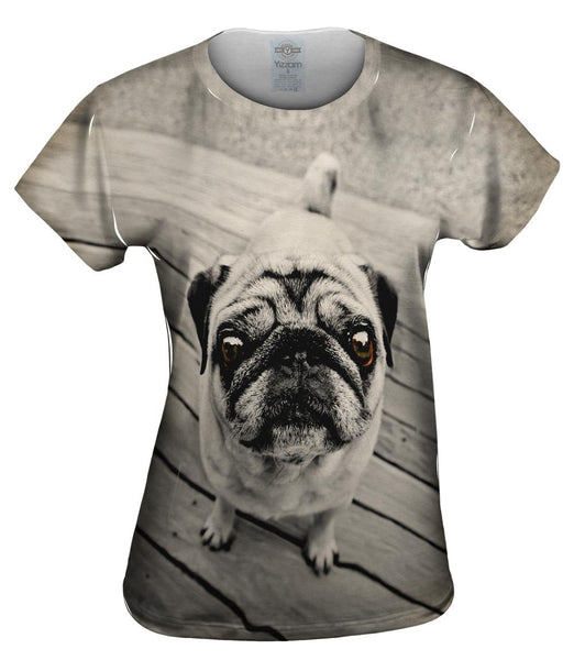 Deck Pug Womens Top