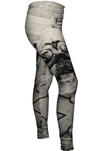 Deck Pug Womens Leggings
