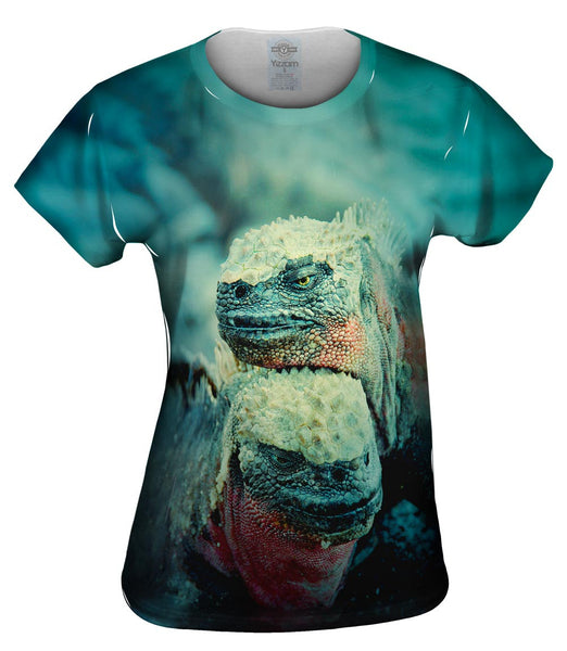 Galapagos Iguana Duo Womens Top