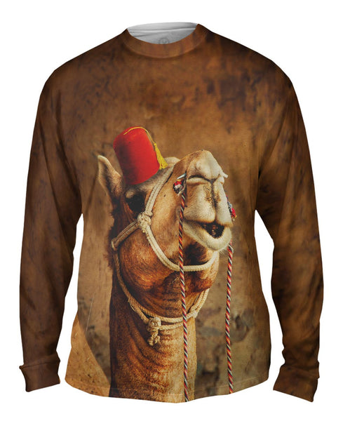Arabian Fez Camel Mens Long Sleeve