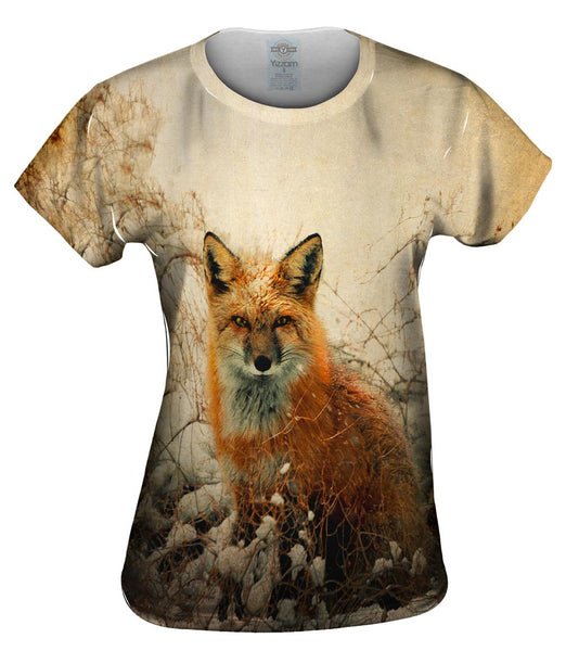 Vintage Snow Fox Womens Top