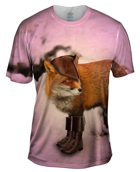 Colonial Fox Mens T-Shirt
