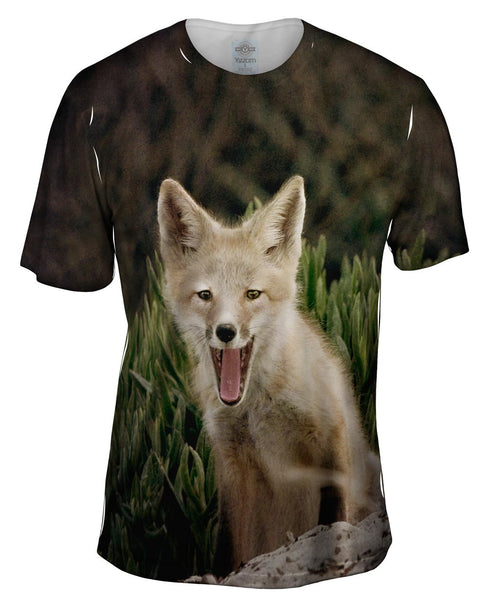 Tall Grass Fox Mens T-Shirt