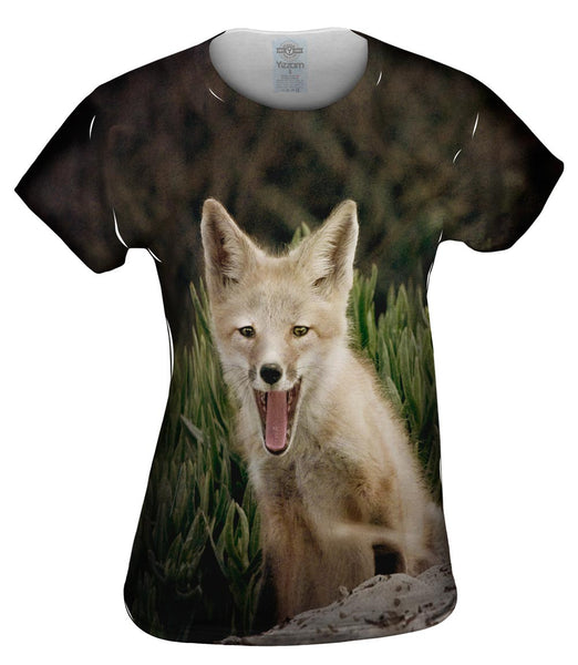 Tall Grass Fox Womens Top