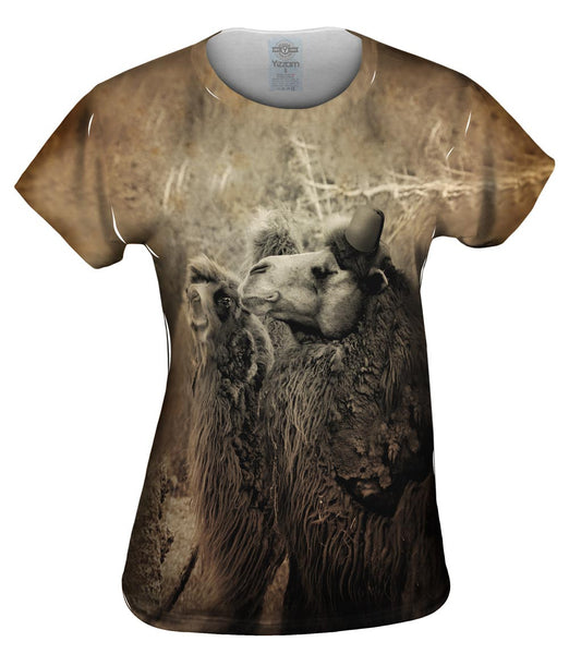 Couple Camel Fez Womens Top