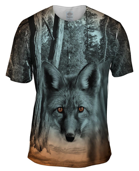Red Ruby Fox Mens T-Shirt