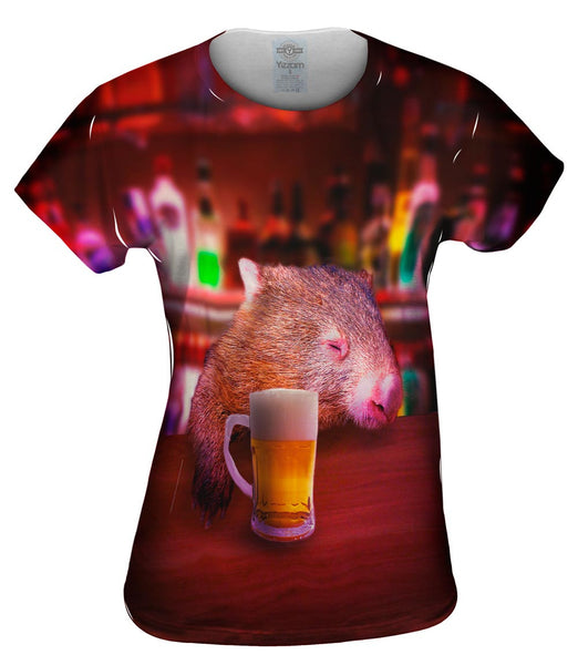 Bar Drink Wombat Womens Top