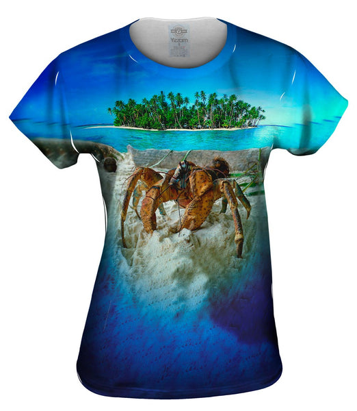 Robber Crab Island Womens Top