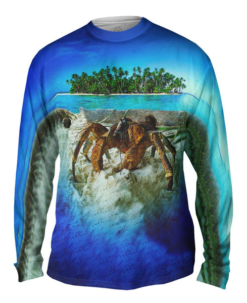 Robber Crab Island Mens Long Sleeve