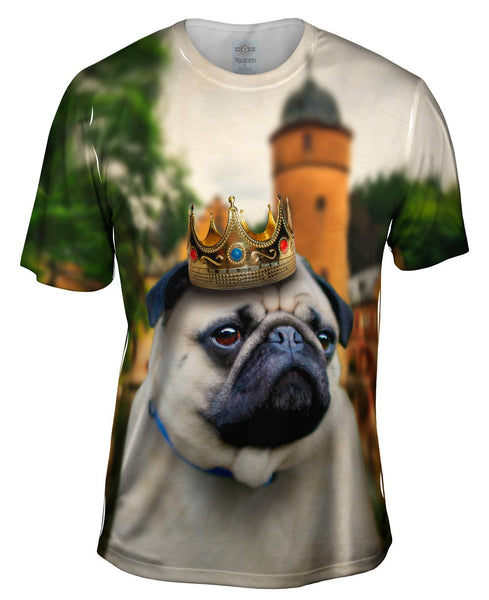 King Castle Pug Mens T-Shirt