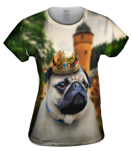 King Castle Pug Womens Top