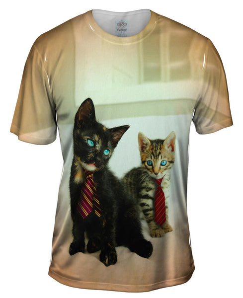 Business Kittens Mens T-Shirt