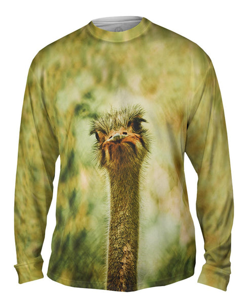 Lone Ostrich Mens Long Sleeve
