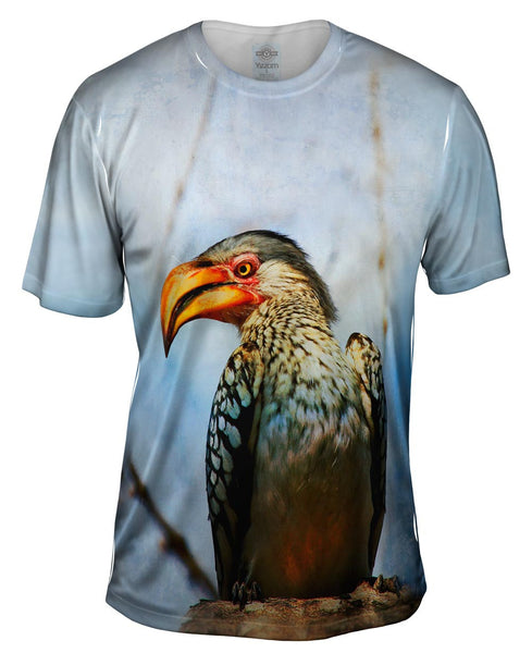 Yellow Billed Hornbill Mens T-Shirt