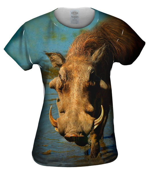 Warthog Stare Womens Top