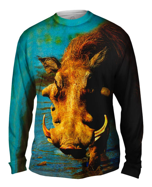 Warthog Stare Mens Long Sleeve