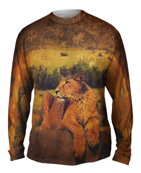 Lion Prince Mens Long Sleeve