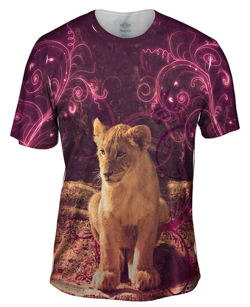 Princess Lioness Cub Mens T-Shirt