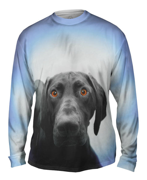 German Shorthaired Pointer Dog Mens Long Sleeve