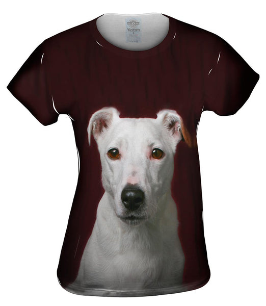 White Terrier Womens Top
