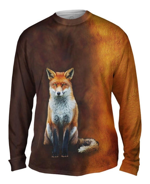 Fox Half Skin Mens Long Sleeve