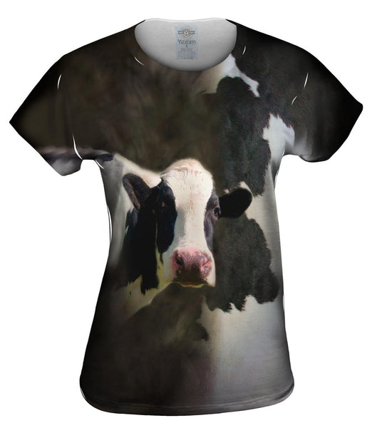 Cow Half Skin Womens Top