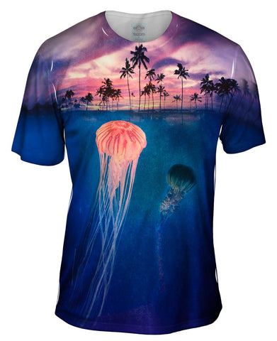 Jellyfish Sky Palm Tree