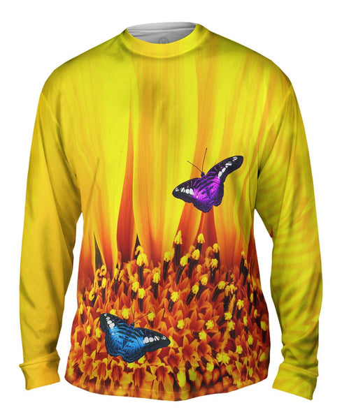 Butterfly 006 Mens Long Sleeve