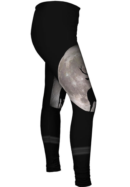 Deer Moon Womens Leggings