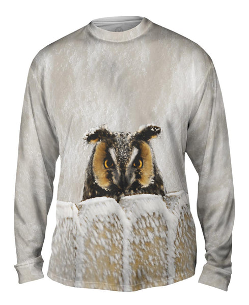 Owl 002 Mens Long Sleeve