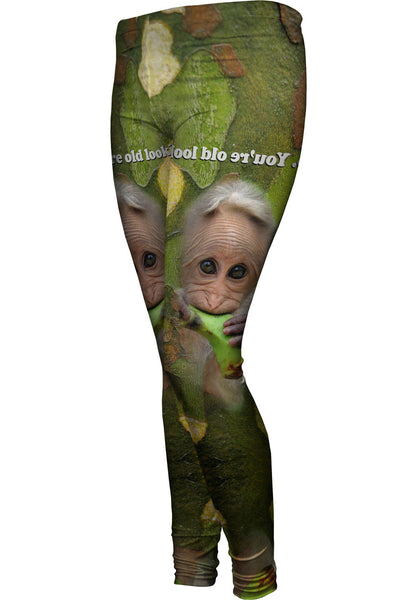 Monkey 004 Womens Leggings