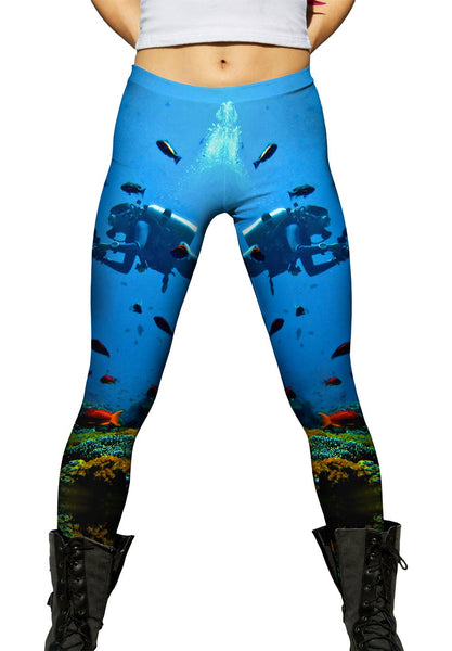 Diver 001 Womens Leggings
