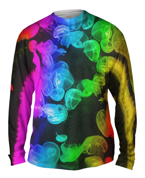 Jelly Fish 003 Mens Long Sleeve
