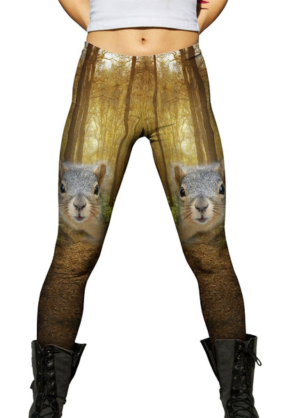 Squirrel Womens Leggings